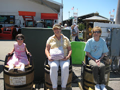Esther, Ya-ya, and Gramer at the Porter County Fair