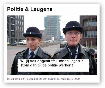 politie maastricht leugenaars promotie ambtseed leugens liegen