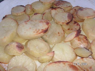Fırında Patates Kızarması
