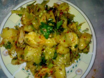 Patates Salatası Ve Çoban Salatası