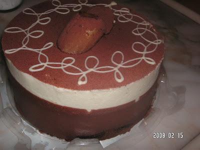 14 Şubat 2008 Sevgililer Günü Pasta,Kurabiye Ve Hediyem