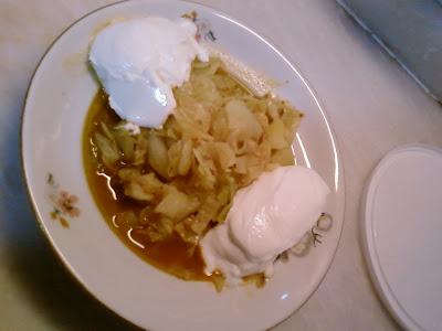 Patatesli Bulgurlu Köri'li Kapuska