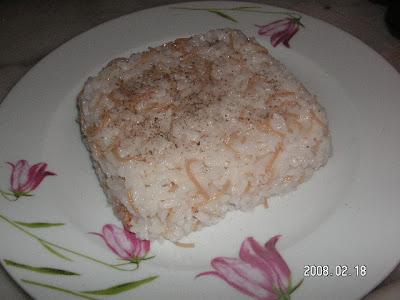 Şehriyeli Karabiberli Pirinç Pilavı