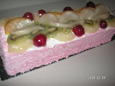 Meyvalı Pasta Ama Ben Daha Lezzetlisini Yapabilirim