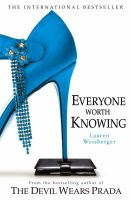Book Cover for Everyone Worth Knowing by Lauren Weisberger
