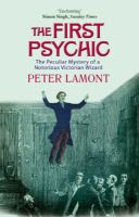 Book Cover for The First Psychic by Peter Lamont