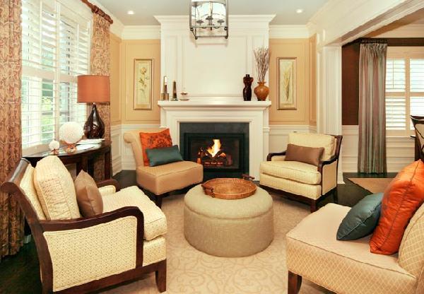 interior design musings: No Sofa!