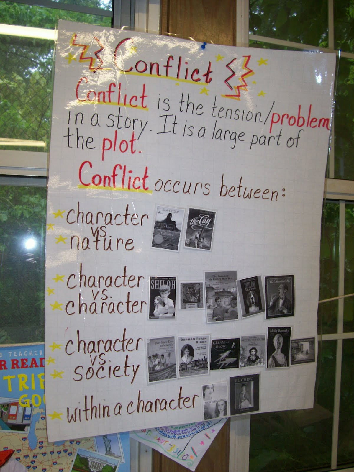 Reading Is Thinking Teaching Conflict