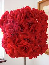 luminaria rosas