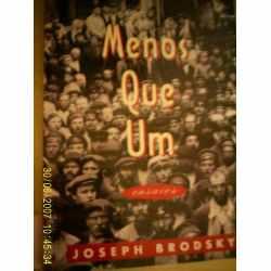 Menos que Um | Joseph Brodsky