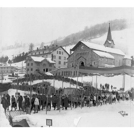 Olimpíada de Inverno de 1928 em Saint Moritz | Suíça
