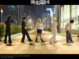 COSPLAYERS DE DEATH NOTE.