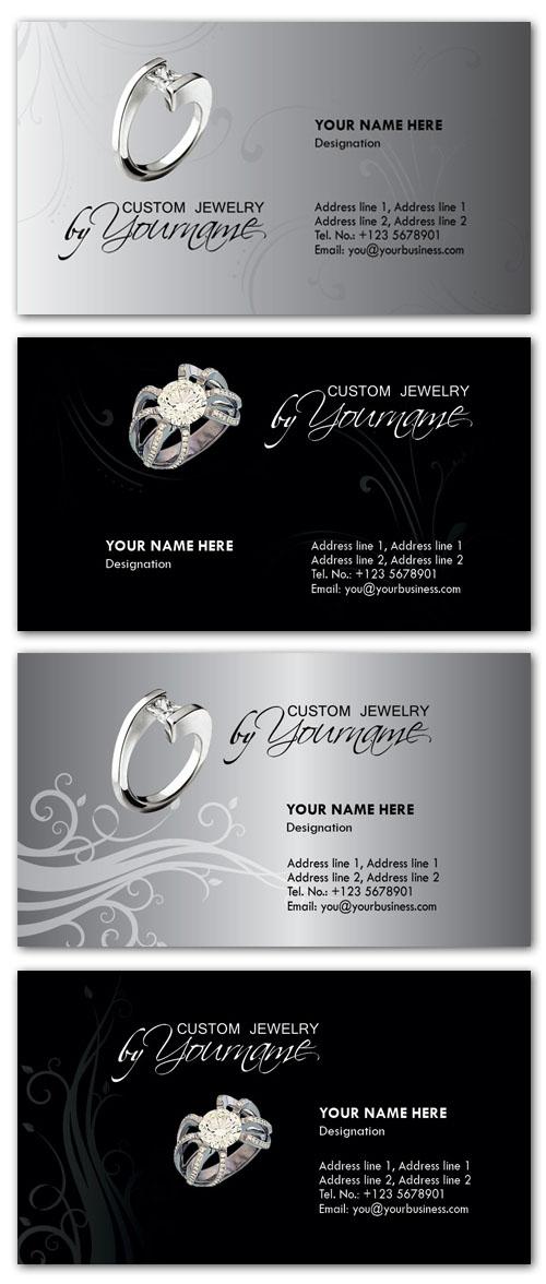 vdshare-psd.blogspot.com: Business Card PSD Templates - Jewelry