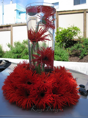 Wedding Centerpices By Red Decoration Centerpieces