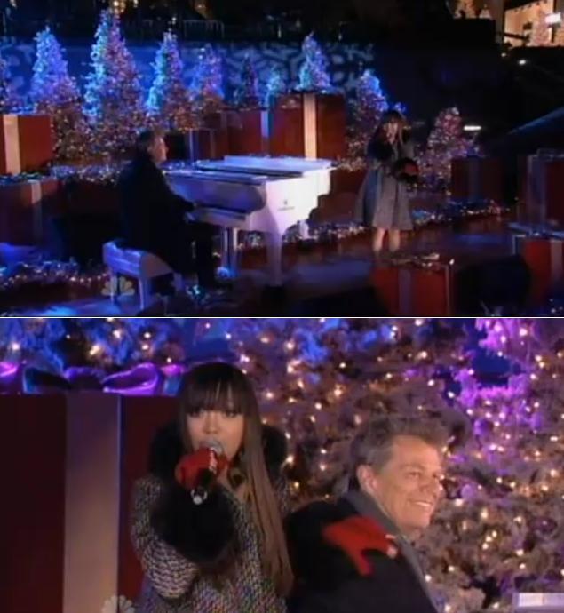 "Rockefeller Center Christmas Tree Lighting Performers: Charice Perform ""Jingle Bell Rock"" At Rockefeller Center"