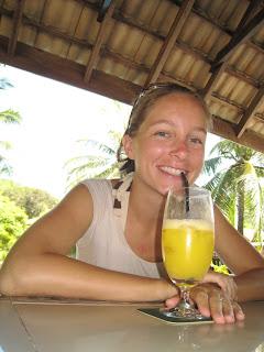 trin mango juice at coral resort