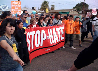 Immigration Talk with a Mexican American: 10,000 Protest