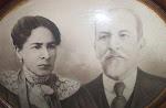Casal FelícioMarcondes e D. Caetana Leite de Siqueira.