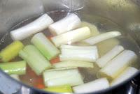Poner a hervir las verduras