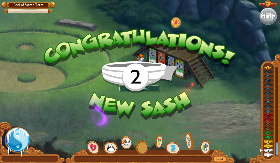Kung Fu Panda World Adventures: Level 2 Sash