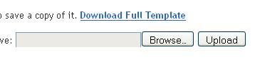 bloggger template upload download