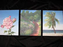 Painting Mini Canvases