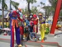 Berbagai macam badut Akrobat untuk acara ulang tahun anak (kids party)