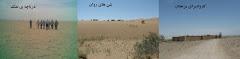 کویر ، کاروانسرای مرنجاب ، دریاچه ی نمک