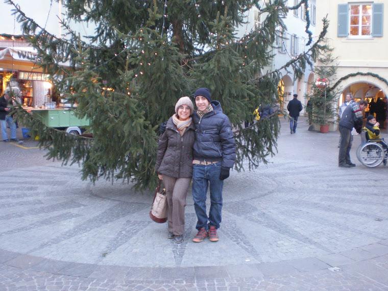 Paola e Fabio a Merano