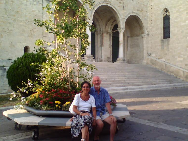 Io e Paola a Osimo