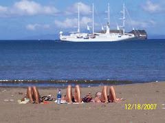 Tres danesas y el crucero