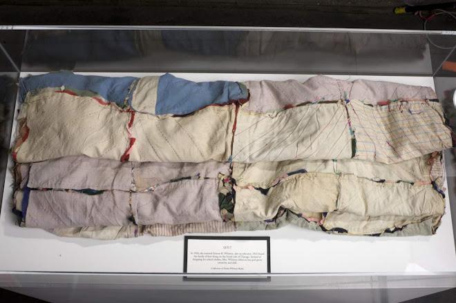 Backside of quilt
