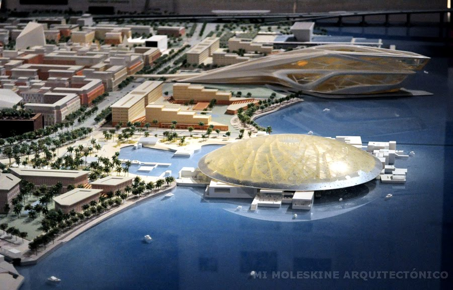My Architectural Moleskine Jean Nouvel Louvre Museum Abu Dhabi