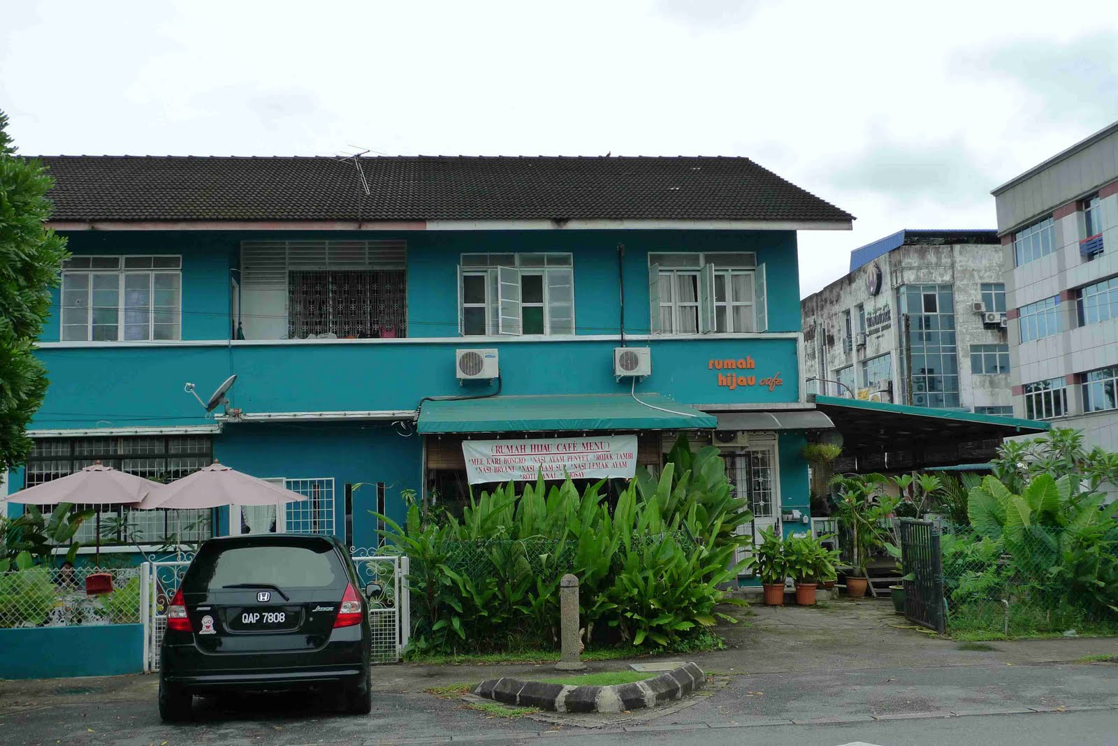Lunch At Rumah Hijau Cafe