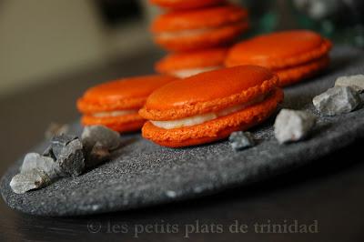 recettes  Les macarons (meringue française)