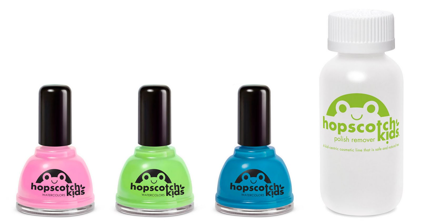 Hopscotch Kids Watercolour Non Toxic Nail Polish