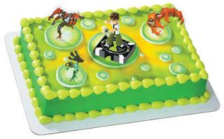 torta ben10 festeja tu cumpleaños con ben10 !!!!! para niños