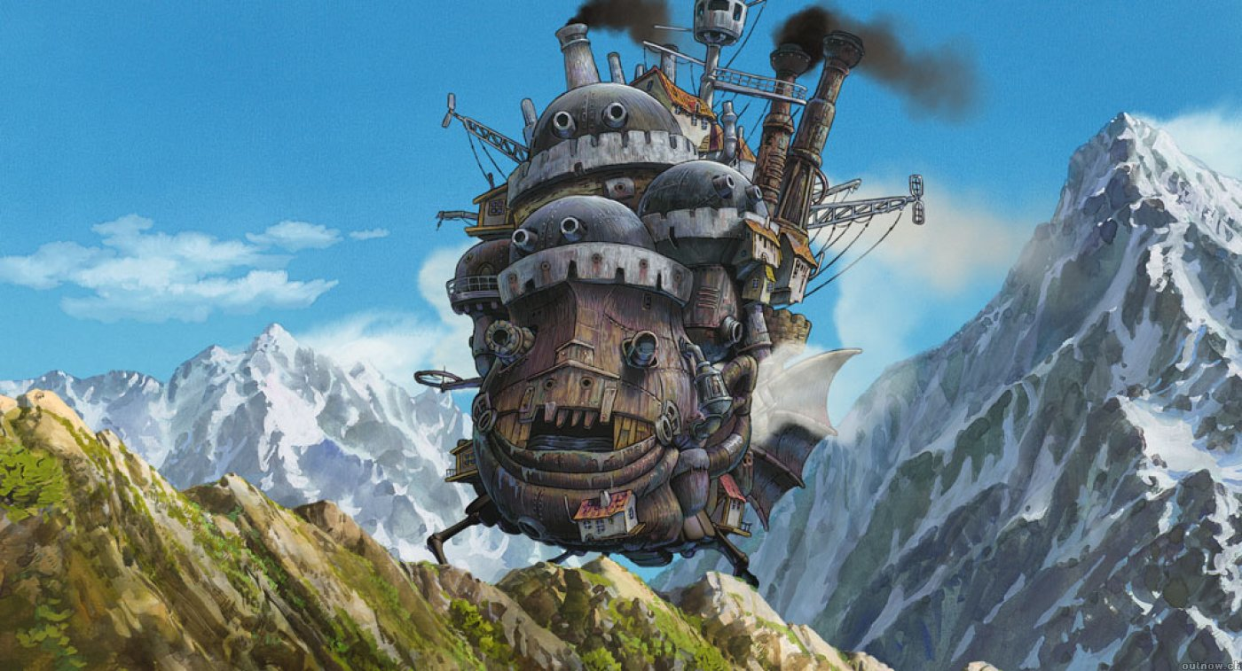 Howl's Moving Castle: Hayao Miyazaki, dir.  Howl's Movi...