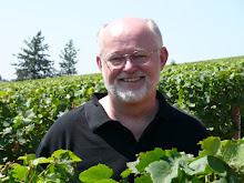 Mike Veseth in the Domaine Drouhin Oregon vineyard