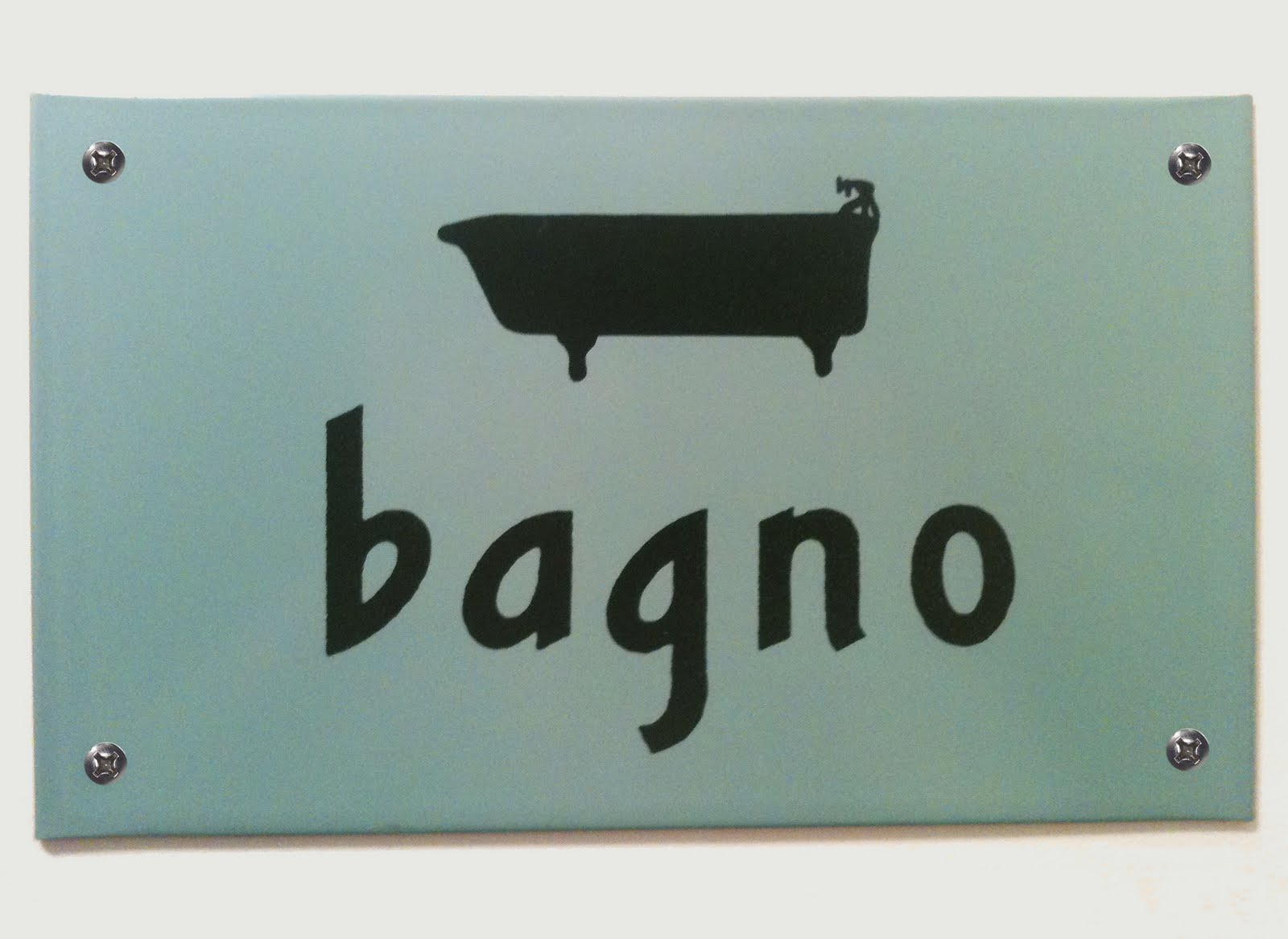 navyblueshoe: Vintage Bathroom Signs