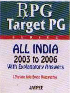 RxPG TargetPG AIPG 2003 to 2006 (in Press) - Bruno - Jaypee Brothers