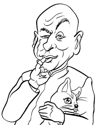 austin powers coloring pages - photo#16