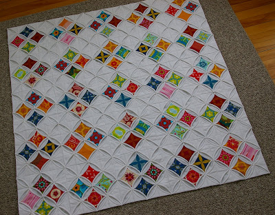 Stained Glass Windows; A Cathedral Windows Quilt | During Quiet Time : pattern for cathedral window quilt - Adamdwight.com
