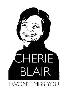 Cherie Blair I Wont Miss You Cartoon