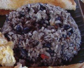 Costa Rican Cuisine - Gallo Pinto