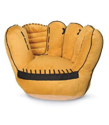 Baseball Glove Bean Bag Chair. 11 Cool Sports Chairs For ...