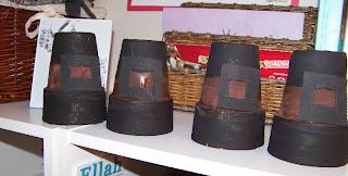 Clay pot Pilgrim Hat