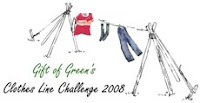 Gift of Green's Clothesline Challenge