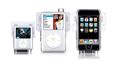 iPod Touch Case + Accessory: iPod Swing Speaker
