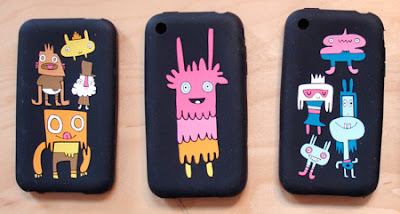 Jon Burgerman iPod Touch Case